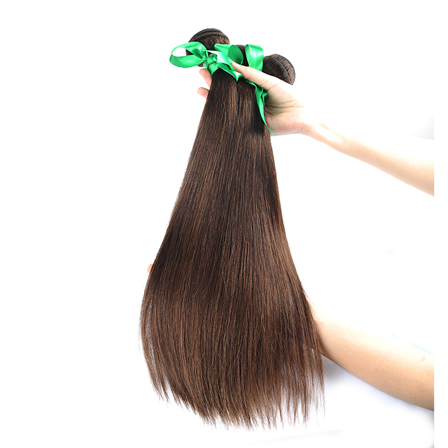 Ombre Peruvian Straight Hair Bundles 3 Bundle Natural Color For America Women