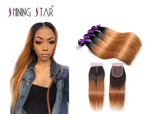 China No Shedding Peruvian Straight Bundles , 1B30 4 Bundles Peruvian Hair supplier