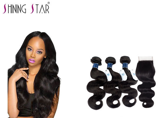 China No Lice Virgin Brazilian Remy Hair Body Wave , 9A Long Body Wave Weave distributor
